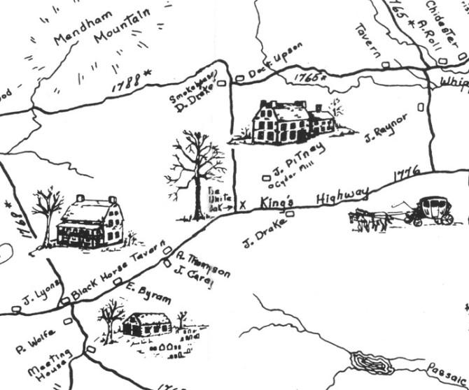 Mendham_Map