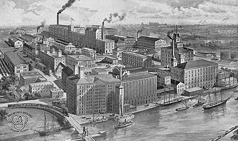 Ballantine Brewery, Newark NJ, 1880-1890