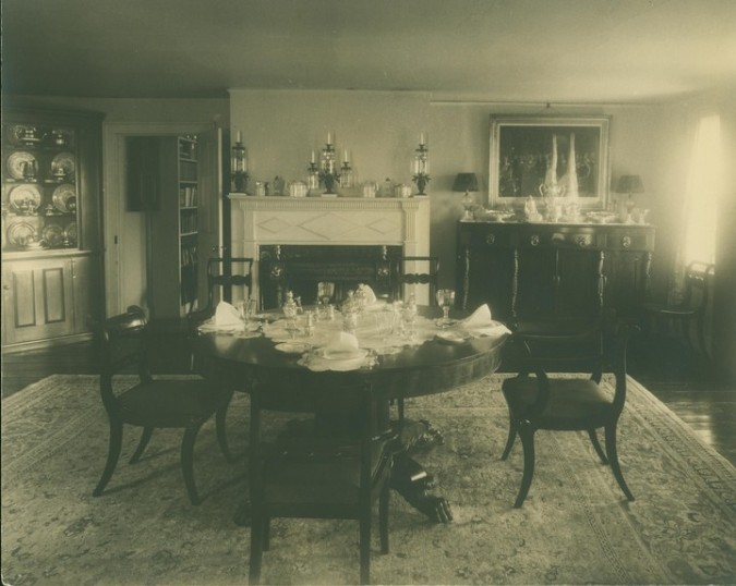 Dining Room 1930s