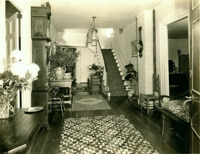 Front Hall 1930s