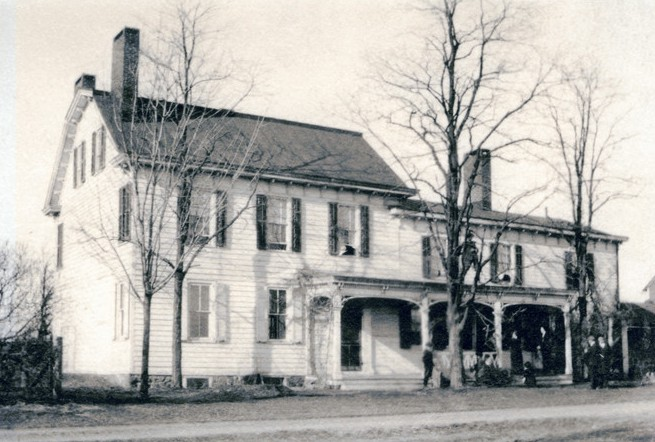 Historic photo of Pitney Farm Main House
